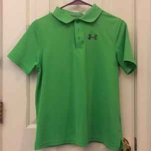 Boys Gently Used Under Armour Performance Polo